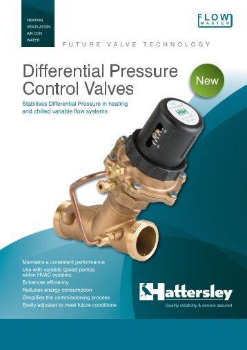 Differential Pressure Control Valves - CA Baldwin & Co
