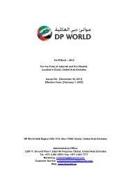 Kandla Port Marine Tariff 24-10-2011 pdf - Inchcape Shipping