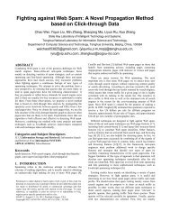 Fighting against Web Spam: A Novel Propagation Method based on ...