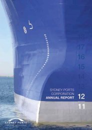 SYDNEY PORTS CORPORATION ANNUAL REPORT 12