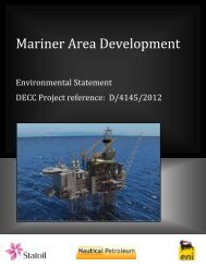 Mariner Area Development - Statoil