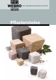 Pflastersteine - Webro GmbH