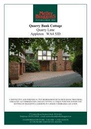 Quarry Bank Cottage Quarry Lane Appleton WA4 ... - Meller Braggins