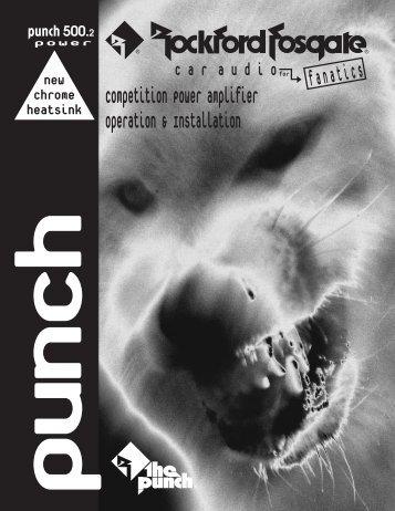 • Punch 500.2