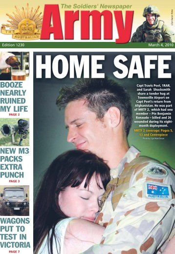Edition 1230, March 04, 2010 - Department of Defence