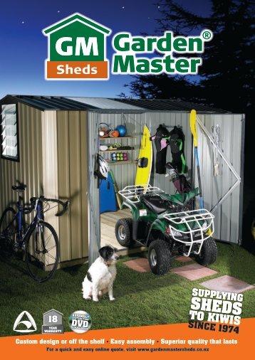 Step - Garden Master Sheds