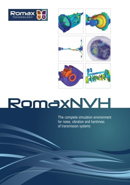 AISIN AW engineers are very pleased to be - Romax Technology
