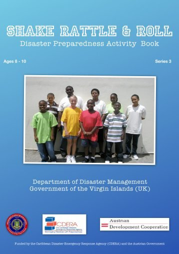 Activity Book single page - The Department of Disaster Management