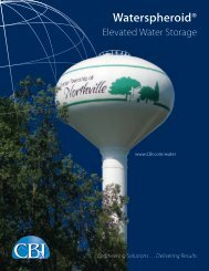 Waterspheroid® Elevated Tank Brochure - CB&I