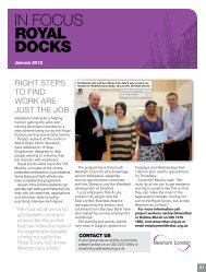 In Focus Issue 237 - Royal Docks - Newham