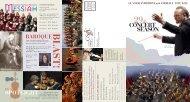 CONCERT SEASON - Glacier Symphony & Chorale