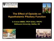 The Effect of Opioids on Hypothalamic Pituitary Function