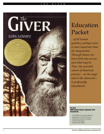 Education Packet for The Giver - University of Hawaii