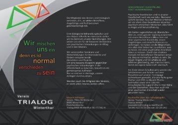 Flyer Verein TRIALOG