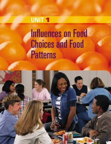 Influences on Food Choices and Food Patterns - McGraw-Hill Ryerson
