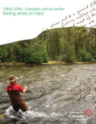 fishing while on trips - Canadian Tourism Commission - Canada