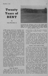 Twenty Years of Bent - Msu