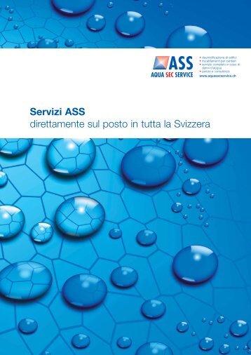 I vostri partner nella Svizzera - ASS Aqua Sec Service
