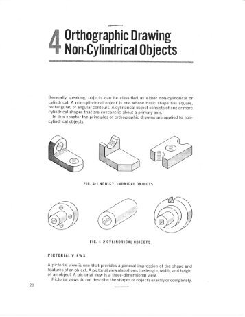 Introduction To Orthographic Drawing Activity Pdf Classnet
