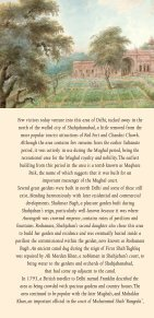 Coronation Park and Mughal Gardens in North Delhi - World ... - Page 2