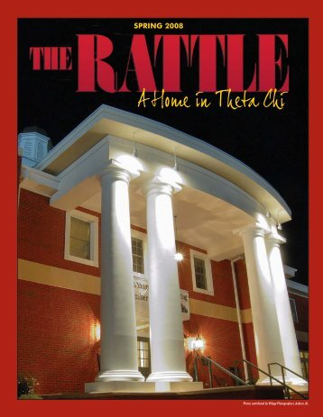 Rattle Spring 08 - Theta Chi Fraternity