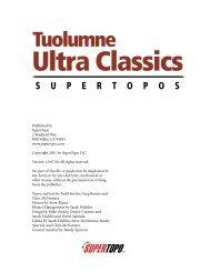 Tuolumne Ultra Classics