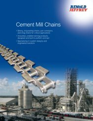 Cement Mill Chains - Renold Jeffrey
