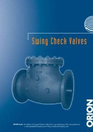 SWING CHECK VALVES.pdf - orion steel valves home page