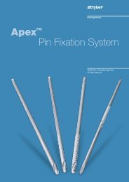 Apex™ Pin Fixation System - Stryker