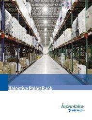 Selective Pallet Rack USA - Nation Wide Shelving