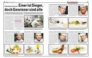 Swiss Culinary Cup - Hotellerie et Gastronomie Verlag