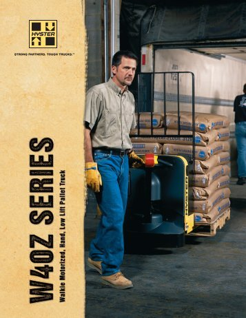 Spec Sheet - Hyster Company