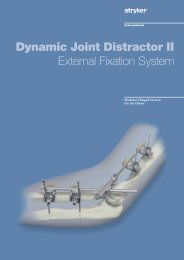 Dynamic Joint Distractor II External Fixation System - Stryker