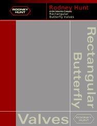 Rectangular Butterfly Valves - Rodney Hunt Company