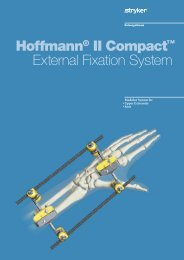 Hoffmann II Compact Brochure - Stryker