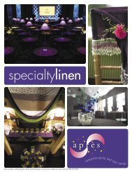 specialtylinen - Apres Party and Tent Rental