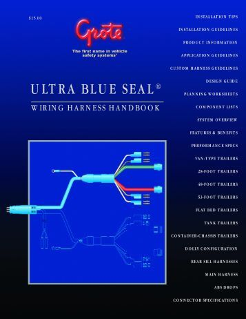 ULTRA BLUE SEAL® - Grote Industries