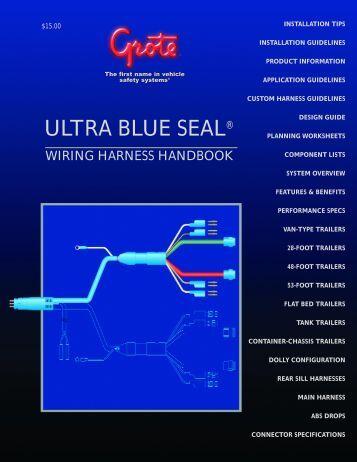 pdf grote industries ultra blue seal® grote industries