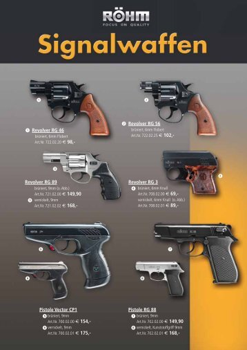 Revolver RG 46 Revolver RG 56 Revolver RG 89 Pistole ... - Springer