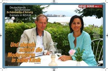 Deutschlands berühmtester Schönheits-Chirurg Exklusiv in ... - MANG