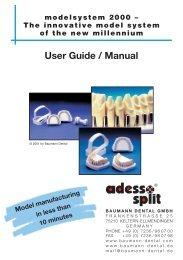 Modelsystem 2000 - bei der Baumann Dental GmbH