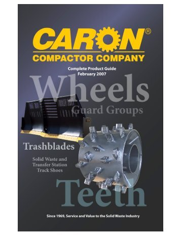 Product Guide - Caron Compactor