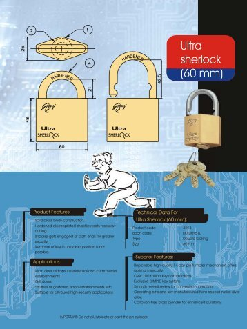 Ultra Sherlock - Godrej Locking