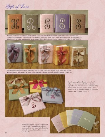 Gifts Of Love - Marcela Creations