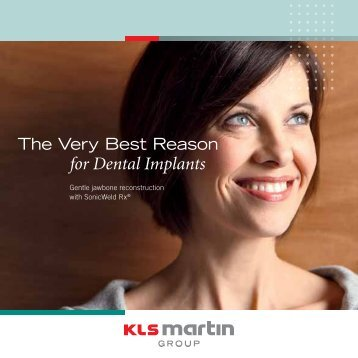 for Dental Implants - KLS Martin