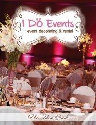 Catalog - I Do Events