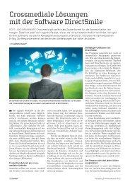 Marketing & Kommunikation 4/2012 - Mapro AG