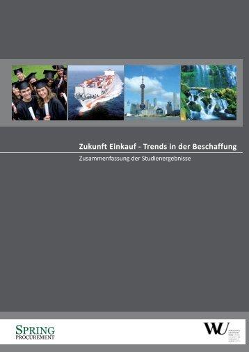 Zukunft Einkauf - Spring Procurement GmbH