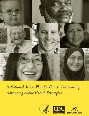 A National Action Plan for Cancer Survivorship - Centers for Disease ...