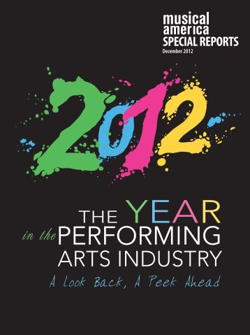 Year in the Performing Arts Industry - Musical America